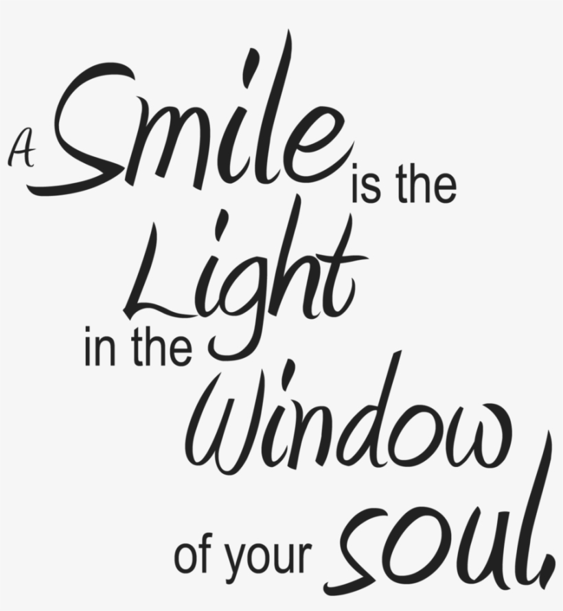 cute smile quote