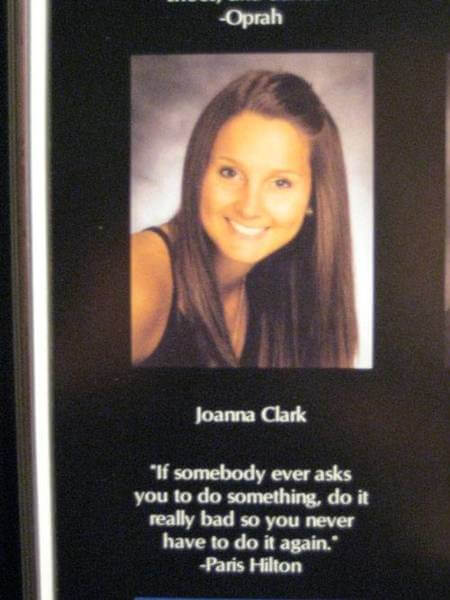 famous celebrity yearbook quotes