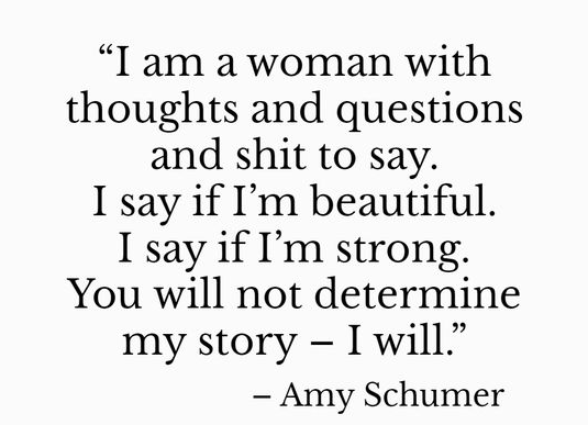 famous confident woman quote
