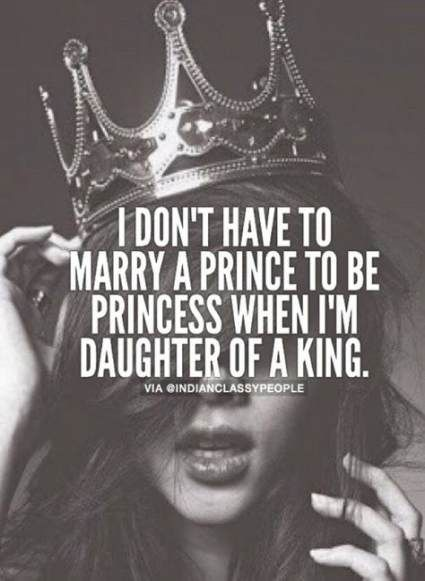 princess attitude quotes for girls