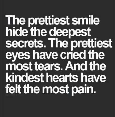 sad smile quotes