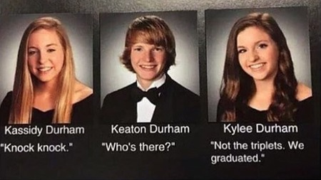 triplet yearbook quotes