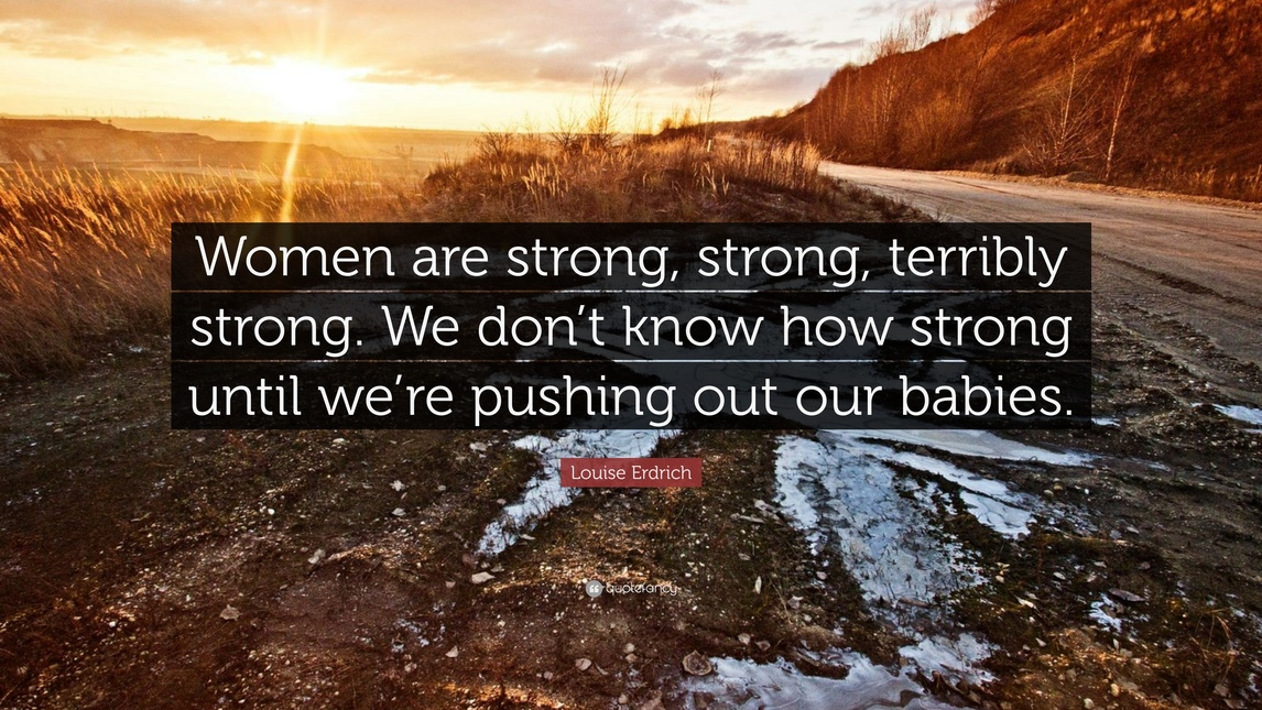 women are strong quotes