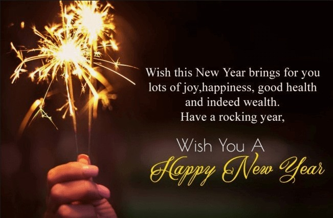 Happy New Year HD Wallpapers Wishes