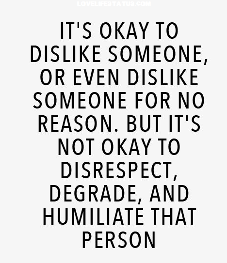 respect other quote