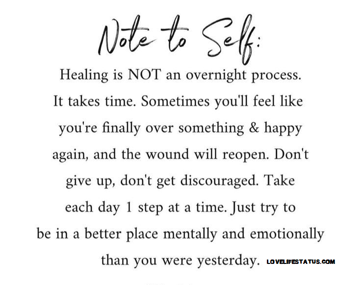 best quote on healing and recovery