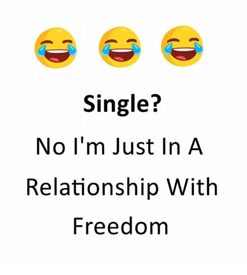funny single status