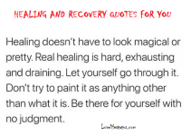 quotes for healing and recovery