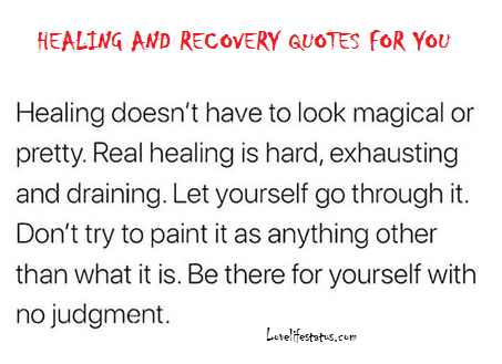 healing and recovery quotes for her