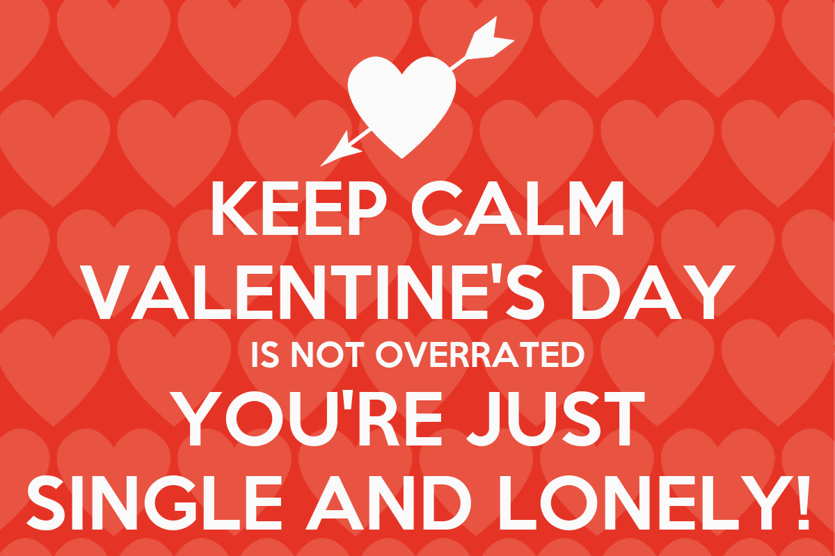 sad valentine days quote for singles