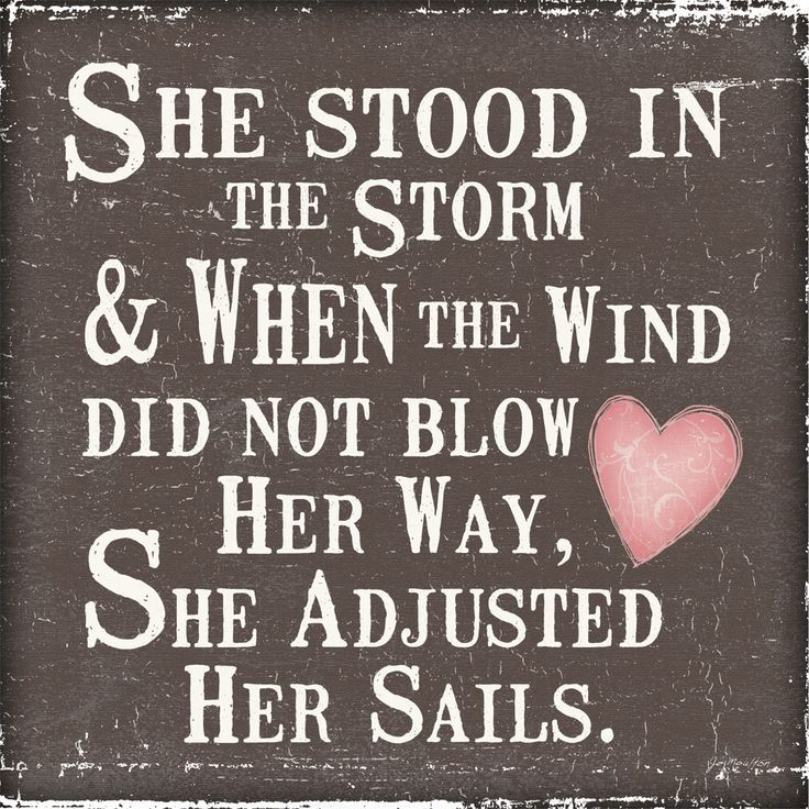 she stood in the storm quotes
