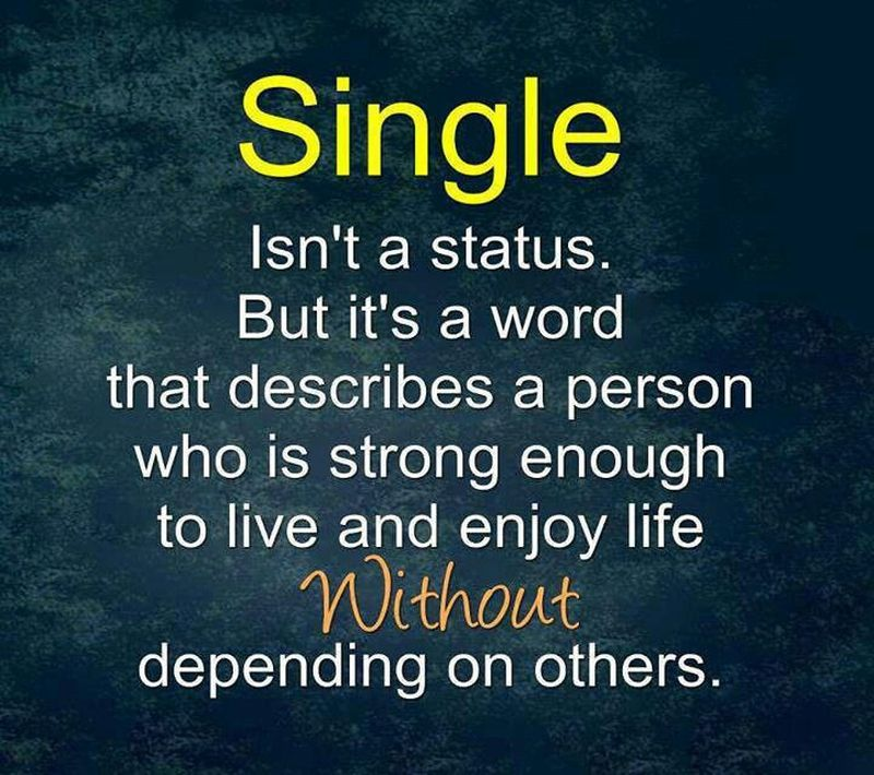 single status for you