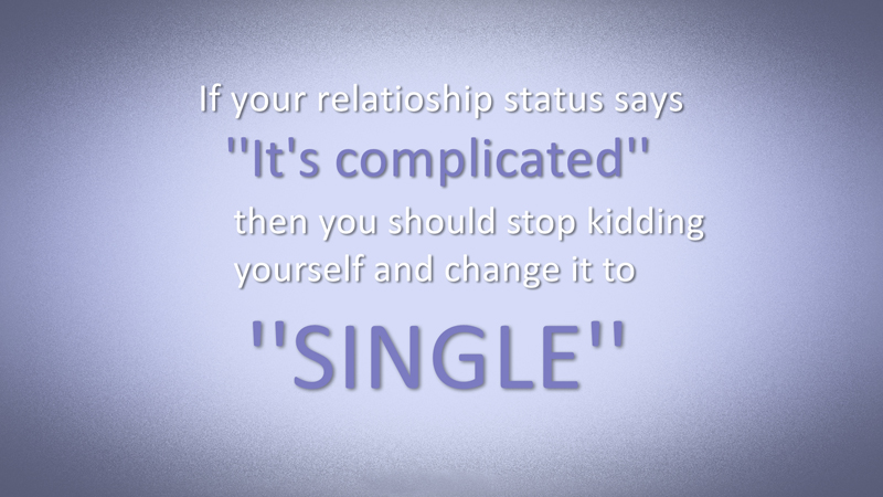 single status for facebook