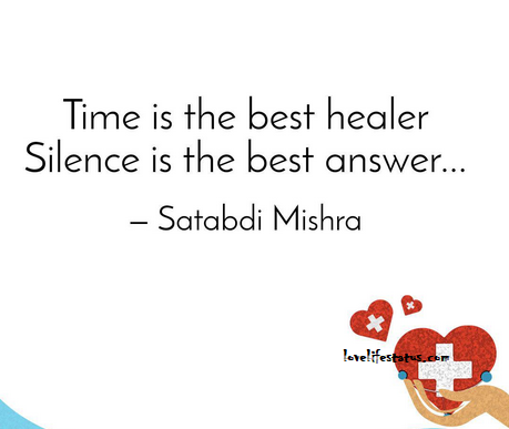 time is the best healer quote