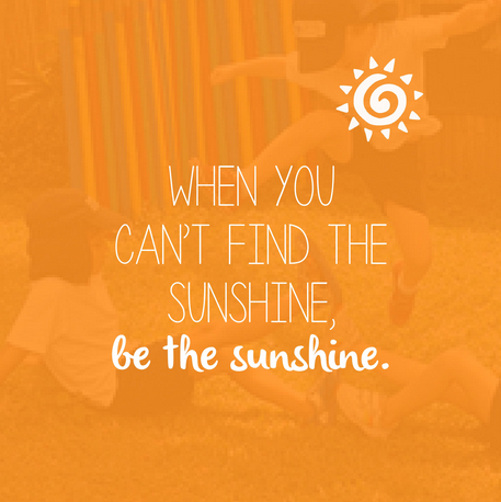 be the sunshine quote for instagram