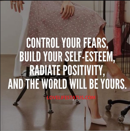 control your fears image quote