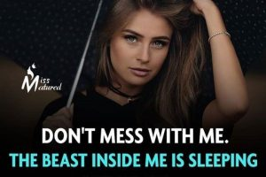 best attitude quotes about myself