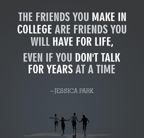 best friends in college quotes