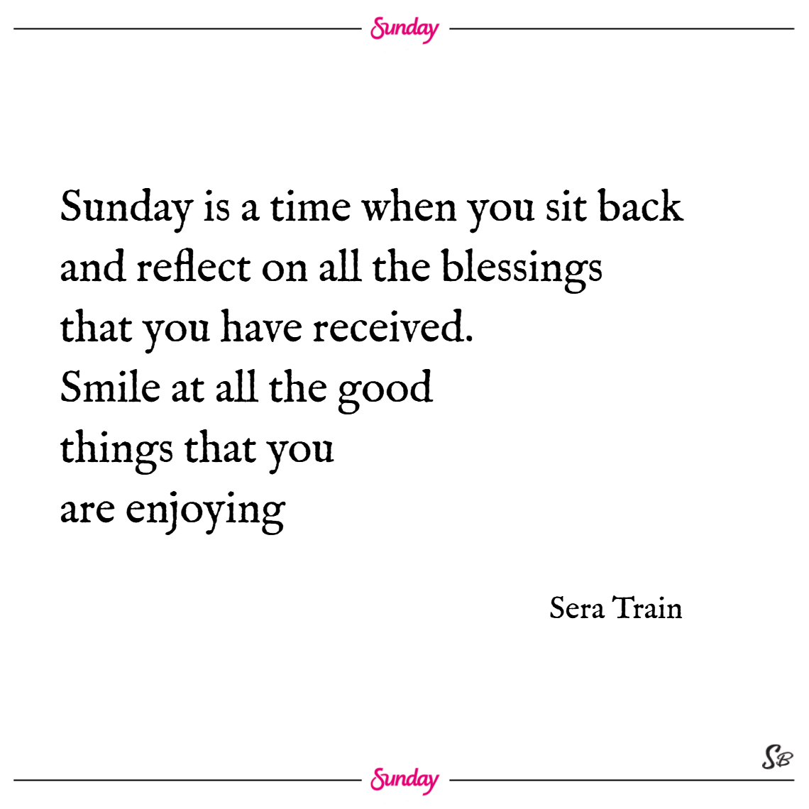 good morning quotes for sunday