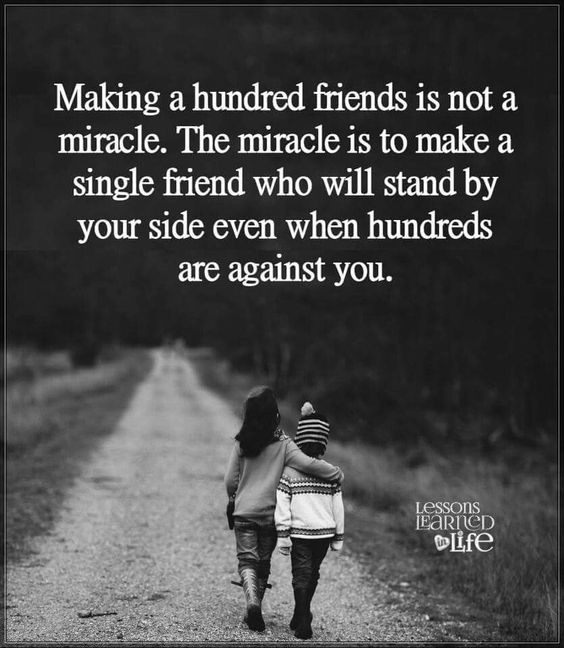 miracle in making real friends