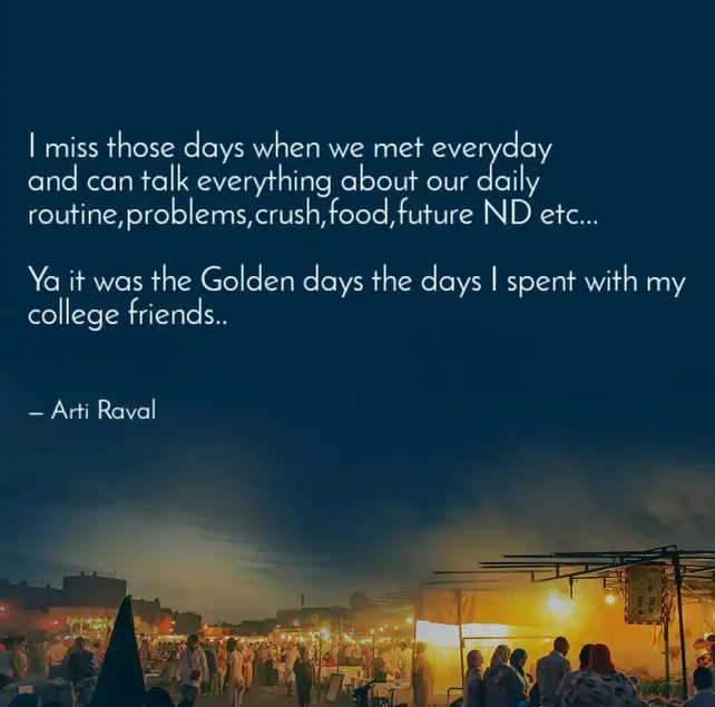 missing college days quotes