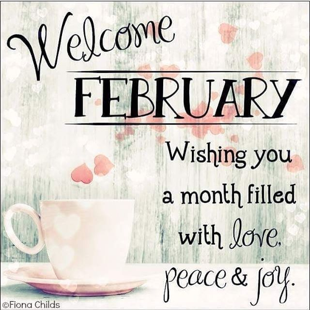 Welcome to february photos