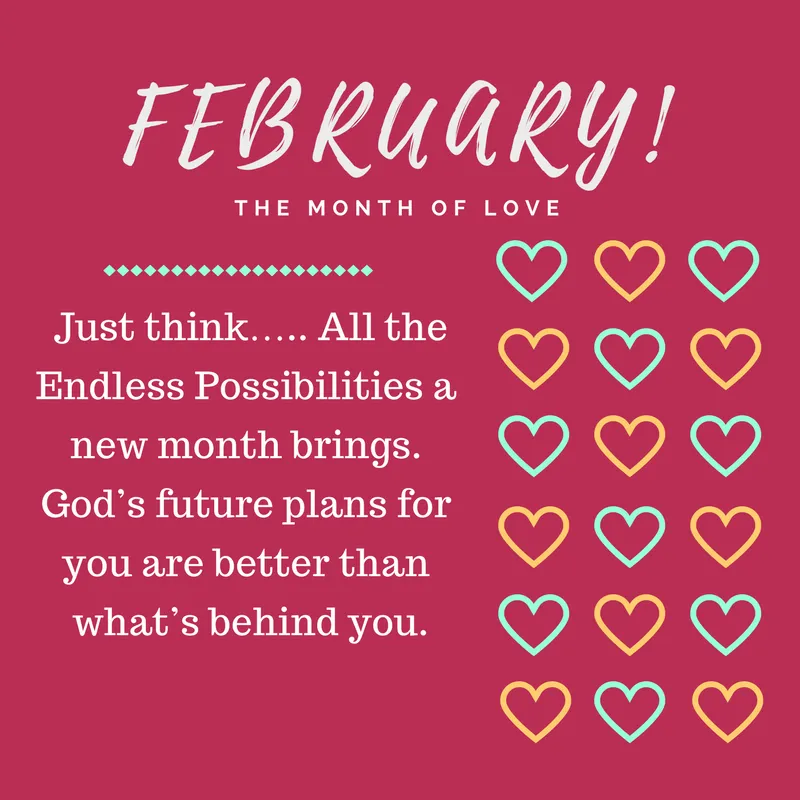 happy new month february messages