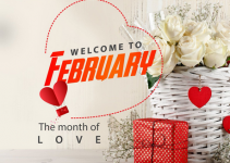 happy new month messages for february