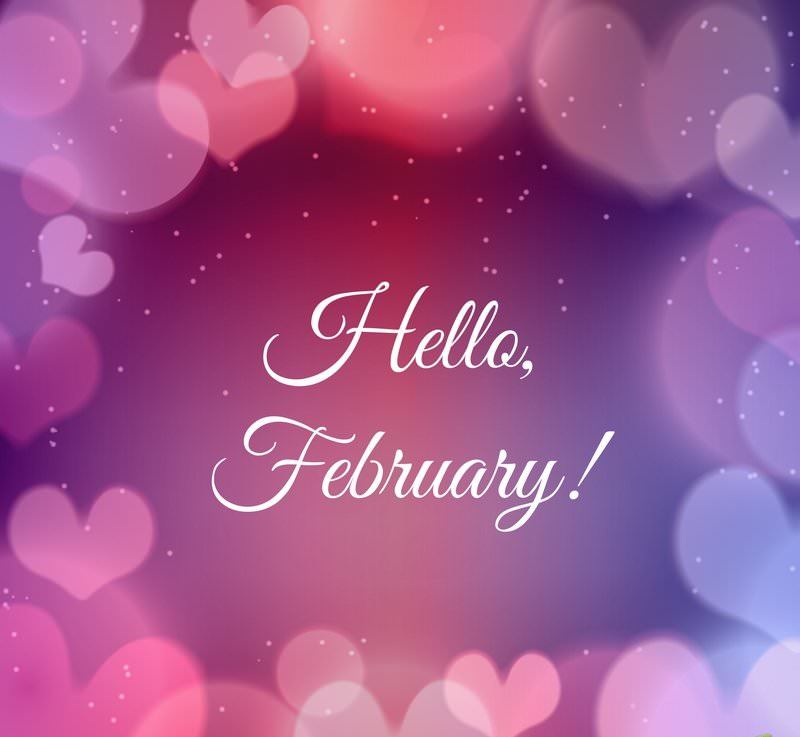 new month text messages for february