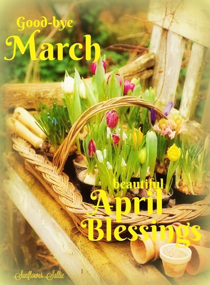 Happy New Month of April Messages for Family