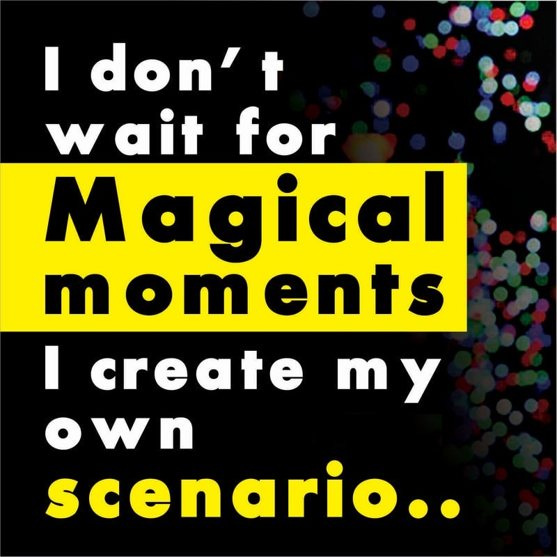 i dont want for magical moment image quote