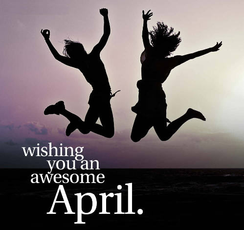 month of april blessings