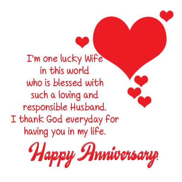 Wedding Anniversary Wishes for Your husband