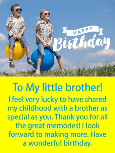 best happy birthday quote to brother
