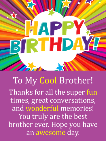 best happy birthday wishes to brother