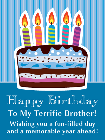 birthday wishes for brother from another mother