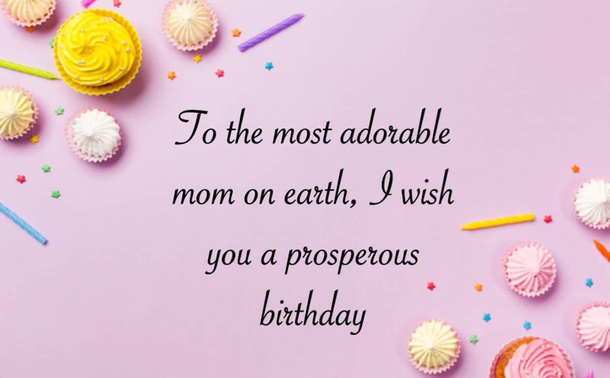emotional birthday wishes for mother