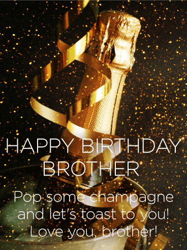 happy birthday message to brother
