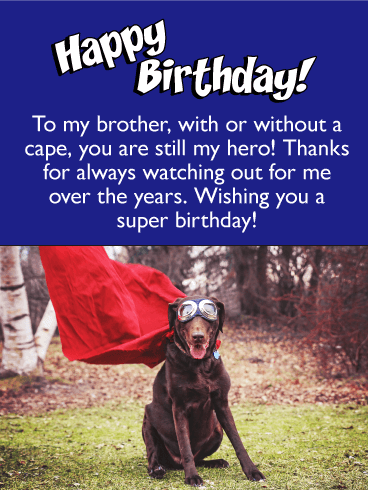 happy birthday message to brothers