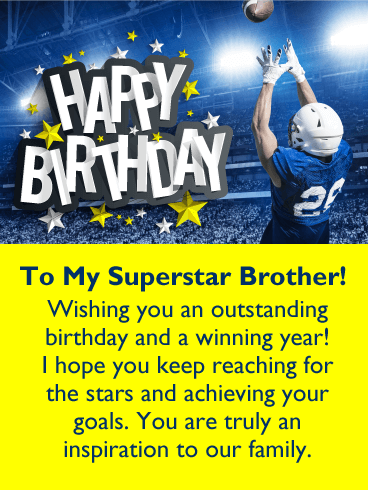happy birthday quote to brother