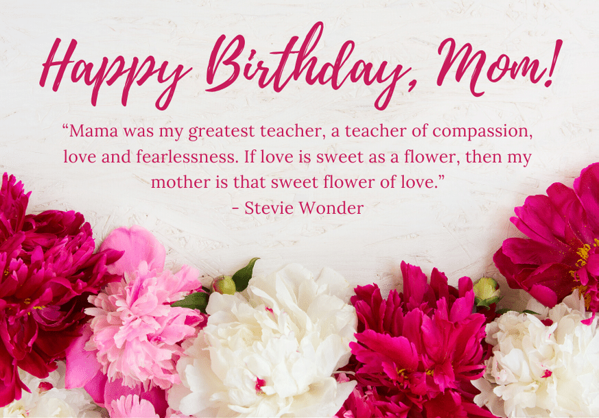 touching birthday quotes for mom
