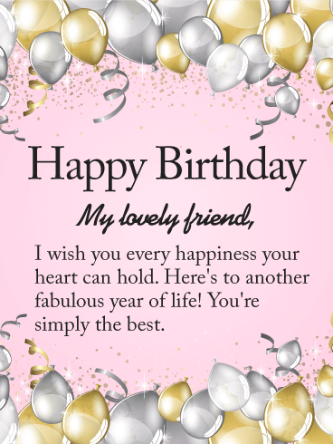 unique birthday wishes for friends