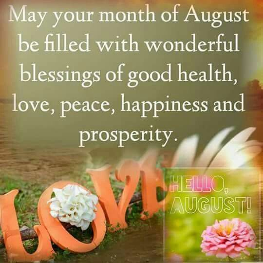 august new month blessing