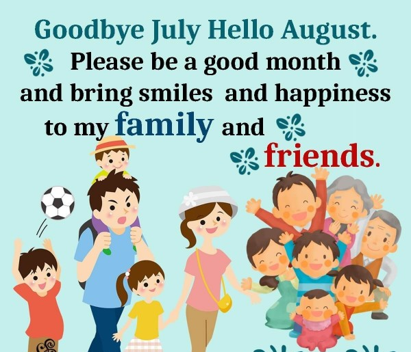 hello august new month quotes