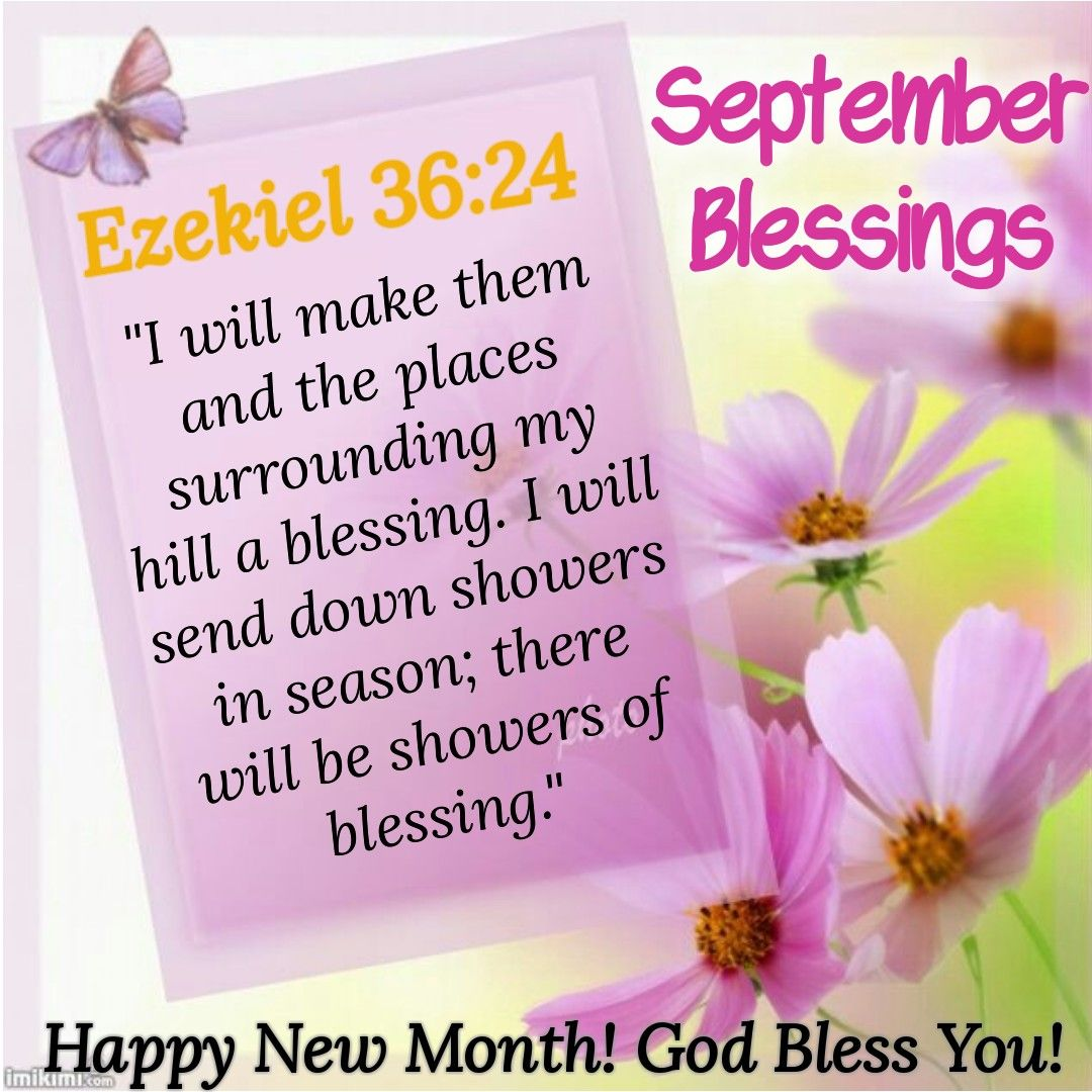 september happy new month messages